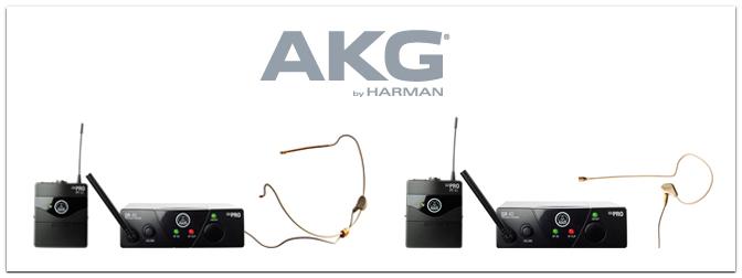 AKG WMS 40 Mini Earmic und Sport Set
