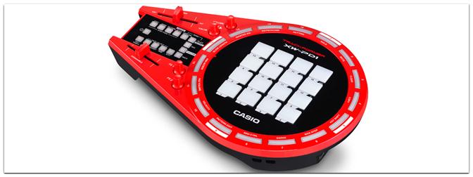 NAMM Show 2015 – Casio präsentiert die XW-PD1 Remix & Beat Maschine