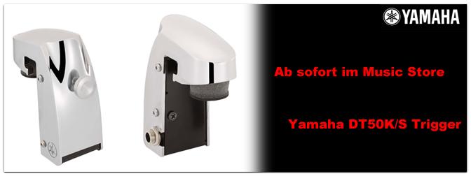 Bei uns bereits erhältlich: Die neuen Yamaha Trigger DT50K / S