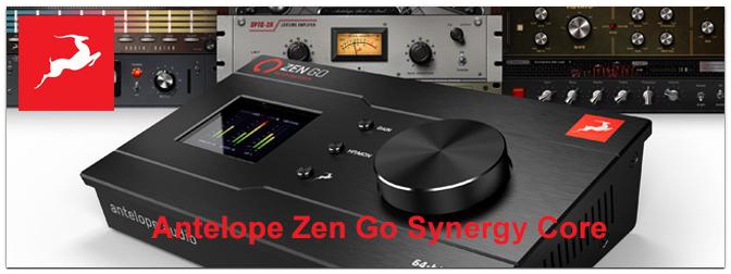 NAMM Show 2021 – Antelope Zen Go Synergy Core