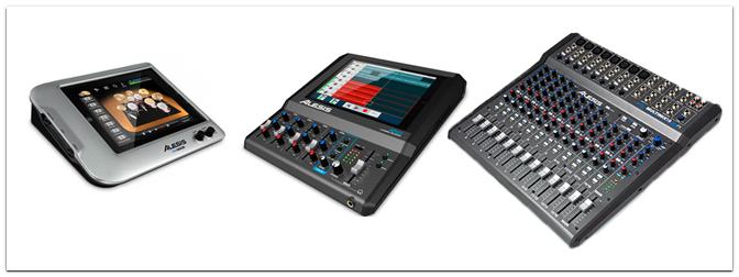 NAMM Show 2013 – Alesis iO Mix, DM Dock, Multimix 16 USB FX