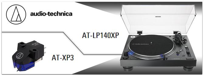 NAMM Show 2019 – AUDIO-TECHNICA präsentiert den AT-LP140XP DJ-Plattenspieler & AT-XP3 Tonabnehmer
