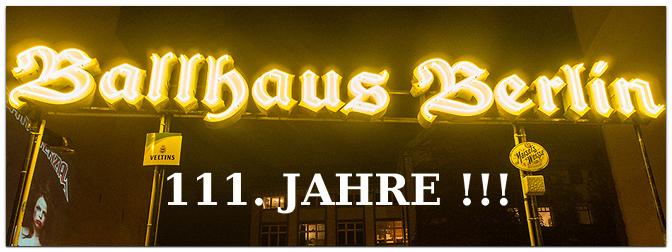 Ballhaus Berlin feiert sein 111. Jubiläum mit Musikvideo