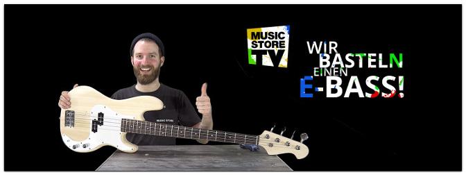 Wir basteln einen E-Bass – Jack & Danny Bausatz