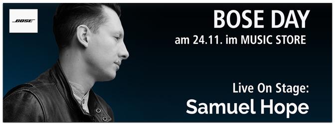 Bose Day am 24. November im MUSIC STORE