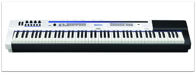 Casio zeigt das E-Piano-Flaggschiff Privia Pro PX-5S