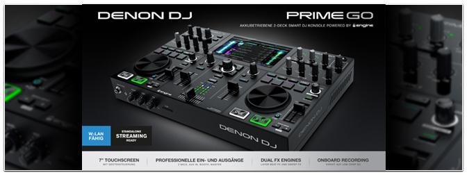 DENON DJ – PRIME GO – Jetzt erhältlich!