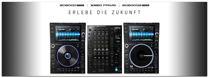 NAMM Show 2020 – DENON DJ präsentiert den SC6000 / SC6000M Prime Medienplayer & den X1850 Prime Mixer!