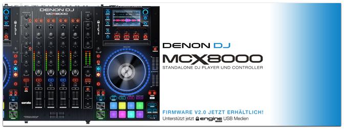 DENON DJ – Engine Prime 1.2.1. & MCX8000 Firmware V2.0!
