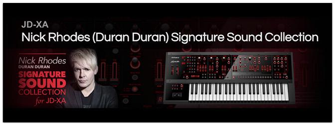 Nick Rhodes (Duran Duran) Signature Sound Collection