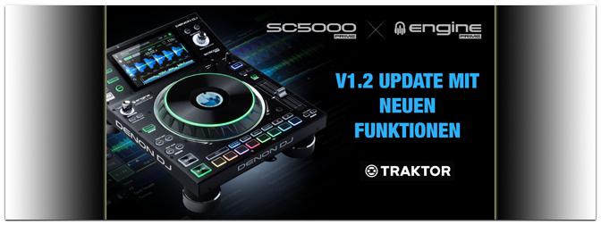 DENON DJ veröffentlicht Version 1.2 Update für SC5000 und Engine PRIME