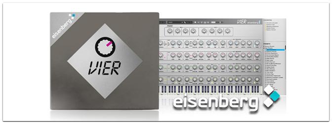 eisenberg VIER Synthesizer-Emulation