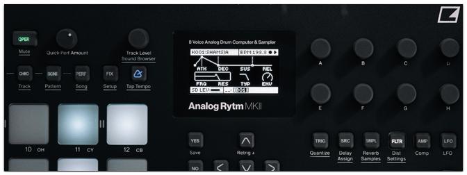 Elektron Analog Four / Rytm MKII BLACK