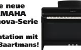 Die neue YAMAHA Clavinova-Serie: Präsentation mit Peter Baartmans!