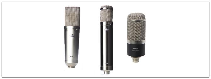 Fame Vintage Mikrofone – Professionelle Mics unter 400 € im Test