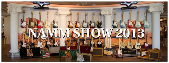 NAMM Show 2013 – FENDER News VIP-Event