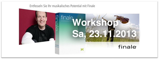 Workshop Notationsprogramm Finale 2014