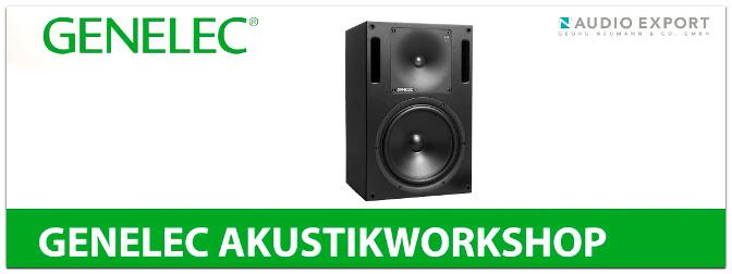 Genelec Studiomonitore Akustikworkshop