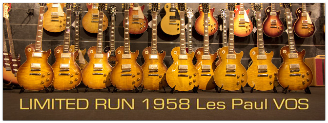MUSIC STORE 'Custom Guitars' und GIBSON Custom