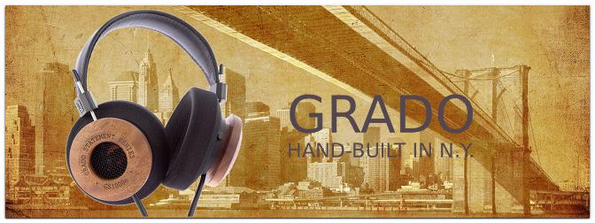 GRADO – High End Kopfhörer und Tonabnehmer aus New York!