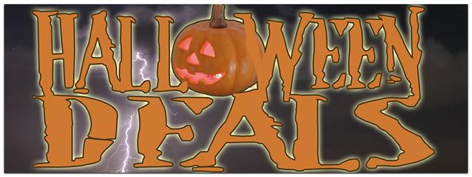 Halloween Deals im Music Store
