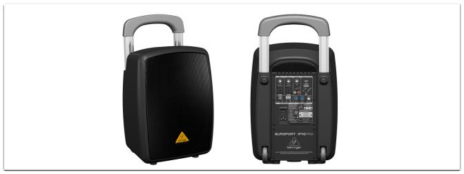 NAMM 2013 – Behringer iP 40 PRO Mobiles PA-System