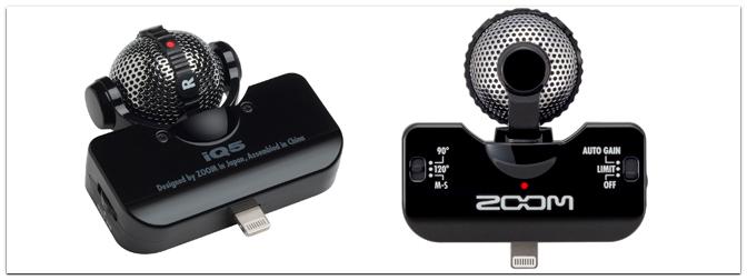 NAMM Show 2013 – Neues Mikrofon für iOS Geräte von Zoom: iQ5