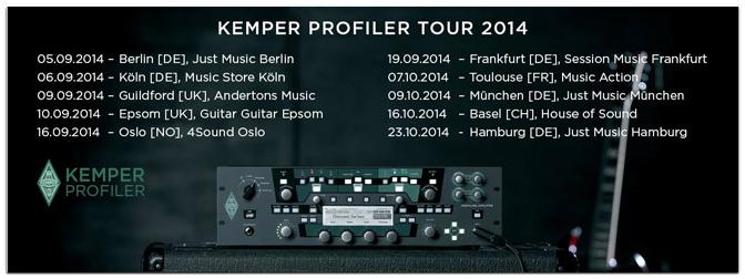KEMPER Profiler Masterclass am 06.09.2014 16.00 Uhr mit Thomas Dill