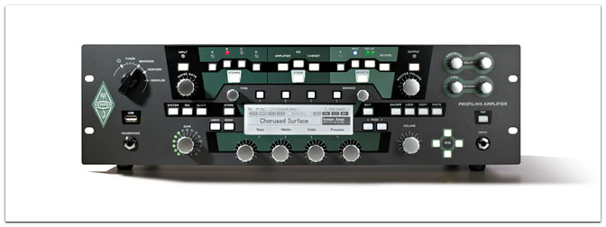 KEMPER Profiler Rack, PowerRack und PowerHead