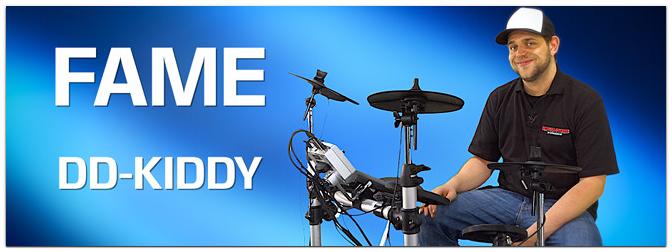 FAME DD-KIDDY E-Drum Set für Kinder
