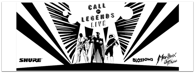 "Shure ""Call for Legends – Live"" Bandwettbewerb"