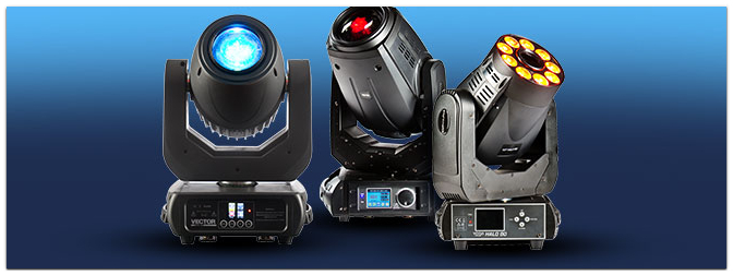 Die neuen lightmaXX Moving Heads