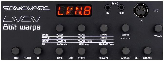 Sonicware – LIVEN 8bit warps