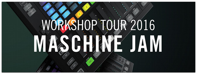 MASCHINE JAM Tour im MUSIC STORE
