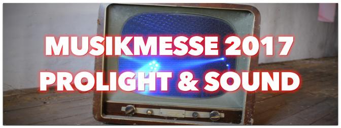 MUSIC STORE TV auf der Musikmesse und Prolight+Sound