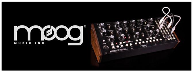 MOOG Mother-32 semi-modularer Synthesizer