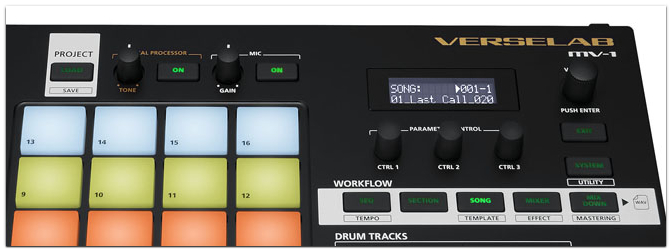 Roland MV-1 Verselab