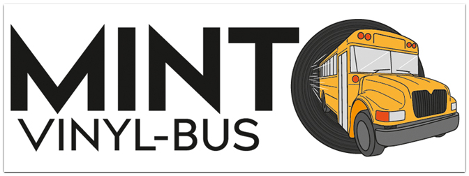 MINT VINYL BUS-TOUR am 04.12.2019 beim MUSIC STORE!