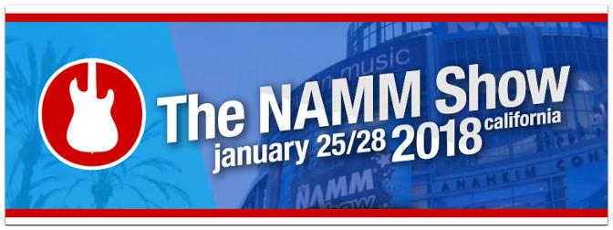 NAMM Show 2018 – Alle Neuheiten hier im Blog!