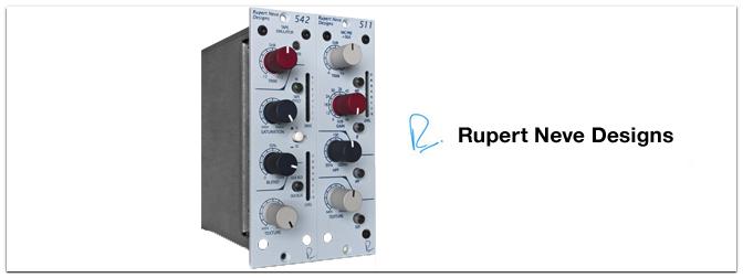 NAMM Show 2013 – Rupert Neve Designs stellt die 500er Module MicPre & Tape Emulator vor