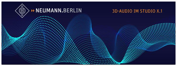 MUSIC STORE empfiehlt: Neumann-Workshop – 3D-Audio mit Lautsprechern am 16.11. im Kölner Studio X.1