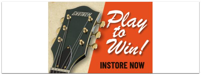 Play to win: Gewinnt eine Gretsch G5420TG Limited Edition Electromatic im Wert von über 949€!