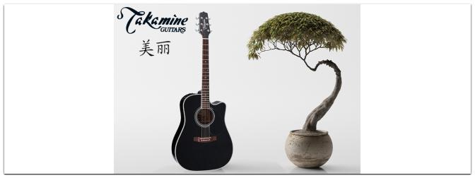 Takamine: Hohe Qualität zum guten Preis!