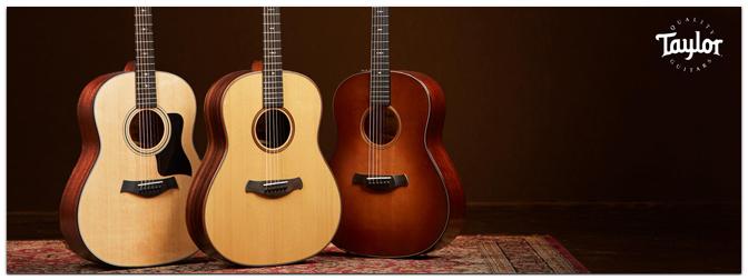 Taylor Guitars: Vorstellung der neuesten Modelle am 20.03. im MUSIC STORE