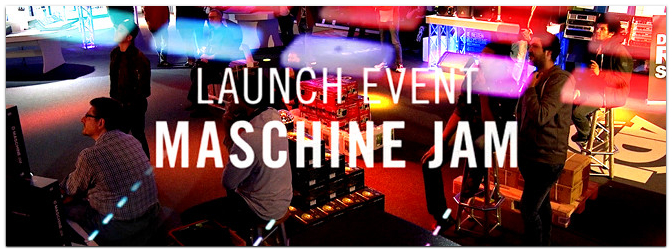 Native Instruments Maschine Jam Launch Event