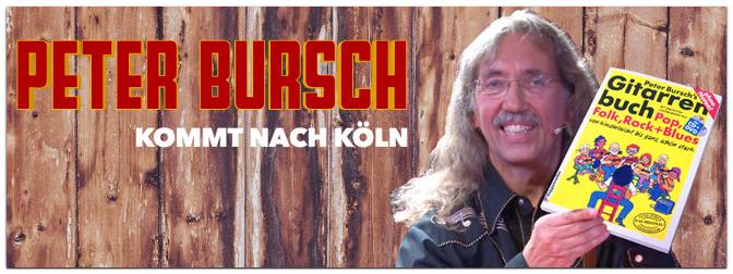 Peter Bursch Gitarren-Workshop in Köln