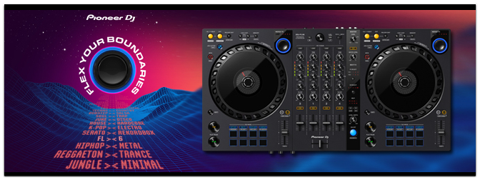 PIONEER DJ bringt den DDJ-FLX6 – 4 Kanal DJ-Controller für rekordbox und Serato DJ Pro!