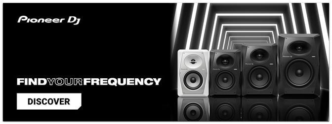 NEU! – PIONEER DJ – VM-Serie – Aktive Monitorlautsprecher für DJs & Musikproduzenten!