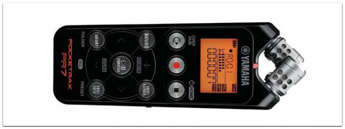 Musikmesse 2013: Yamaha stellt seinen neuen Pocketrak PR7 Recorder vor