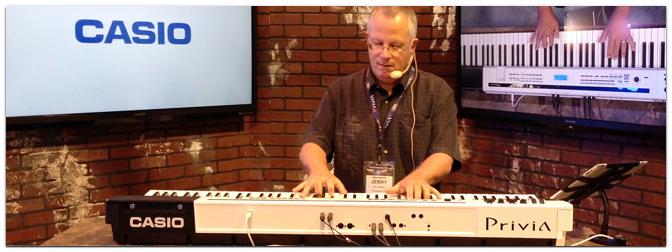 NAMM Show 2013 – CASIO Privia Pro PX-5S E-Piano